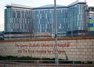 Queen Elizabeth ziekenhuis Glasgow